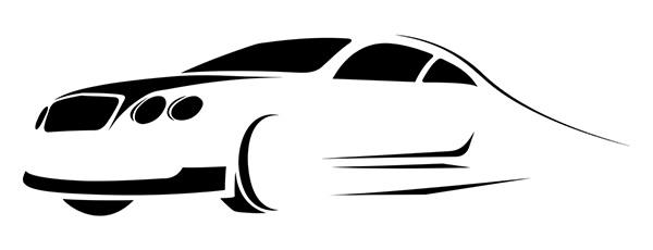 Auto carrozzeria stilizzata