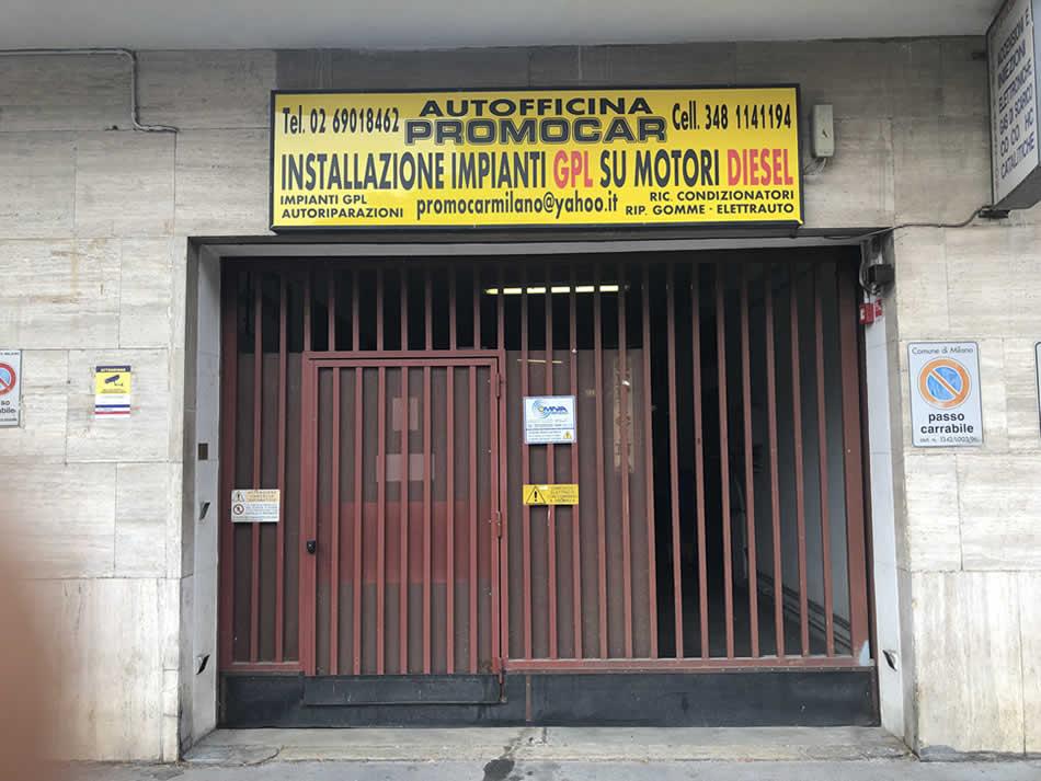 Autofficina Promocar a Milano