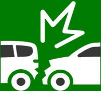Incidente auto icon
